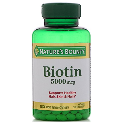 Natures Bounty%C2%AE Biotin 5000 Softgels