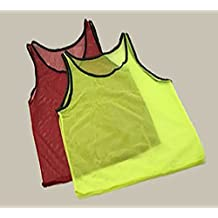 Deco4Fun Youth Practice Sports Jerseys Scrimmage Vest for Children, Football, soccer, Basketball, Volleyball Team Pinnies