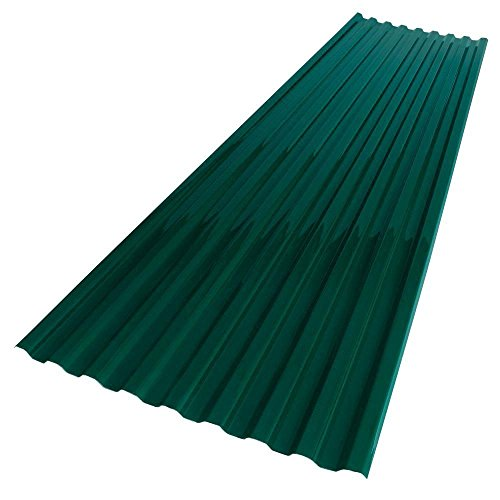 (26 in. x 6 ft. Hunter Green Polycarbonate Roof Panel)