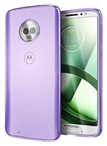 Cimo Slim Grip Moto G6 Case with Premium TPU Protection for Motorola Moto G6 - Purple