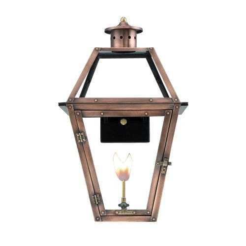 Primo Lanterns OL-22G Copper Lantern - Copper Natural Gas Light
