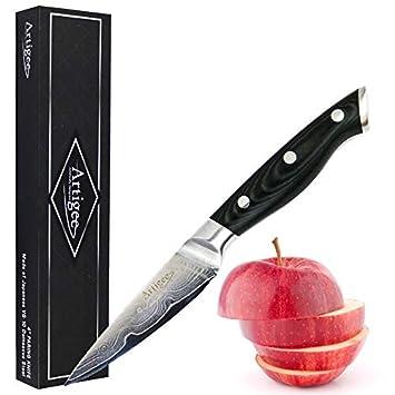 Artigee Cuchillos Profesionales para Chef con Asas de Madera ...