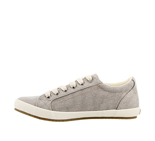 Fashion Women's Grey Star Footwear Canvas Sneaker Taos Wash qgSHRaW
