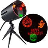 Lightshow Projection w/Sound-Halloween Fireworks by Gemmy Industries (Set of 2)