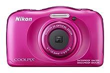 """Nikon COOLPIX W100 - Cámara digital (13,2 MP, 4160 x 3120 Pixeles, 1/3.1"""", CMOS, 3x), Rosa"""
