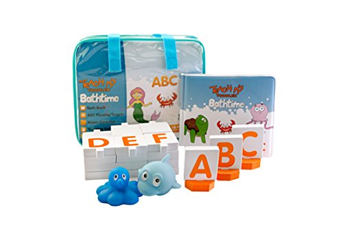Teach My Toddler Bathtime ABCs Toy, Blue ()
