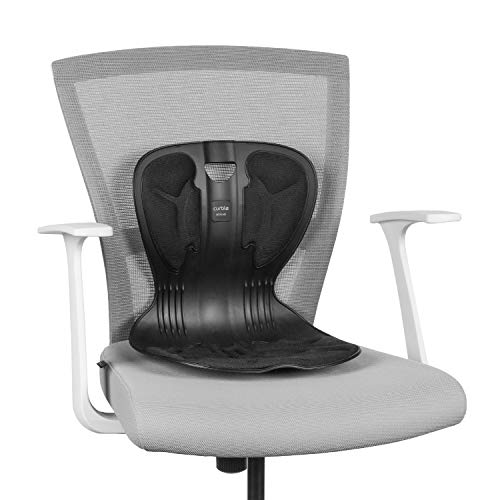 Curble Chair Lumbar Support Back Pain Relief for Office Gaming Computer Study Chairs Posture Correction Seat Cushion: Sit Down>Push Back>Correct Posture Improvement ()