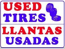 Amazon.com : USED TIRES LLANTAS USADAS 18x24 Heavy Duty