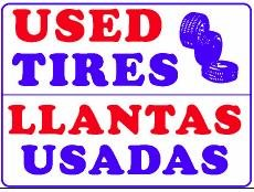 used-tires-llantas-usadas-18x24-heavy-duty-plastic-indoor-outdoor-sign