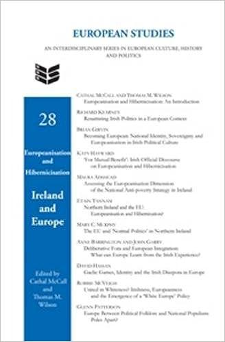 Europeanisation and Hibernicisation: Ireland and Europe.