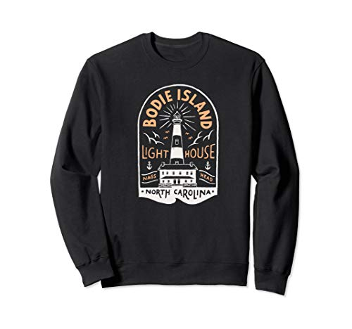 (Bodie Island Lighthouse Sweatshirt Outer Banks NC OBX)