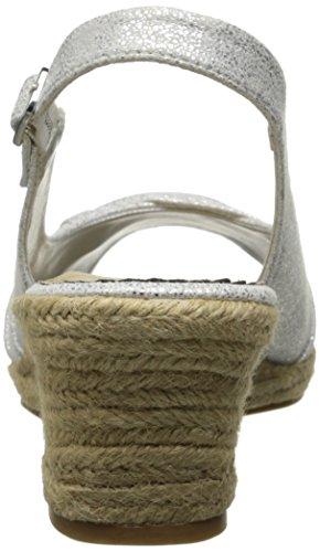 Espadrille White Vita Women's Sandal Silver Too Sangria Bella H6IOqZwBq