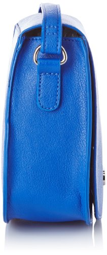 Buffalo Bag 601645, Damen Umhängetasche one size Blau - Blau (Blue)