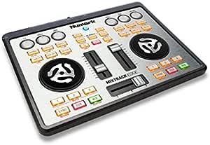 Numark Mixtrack Edge | Slimline USB DJ Controller with Integrated Audio Output