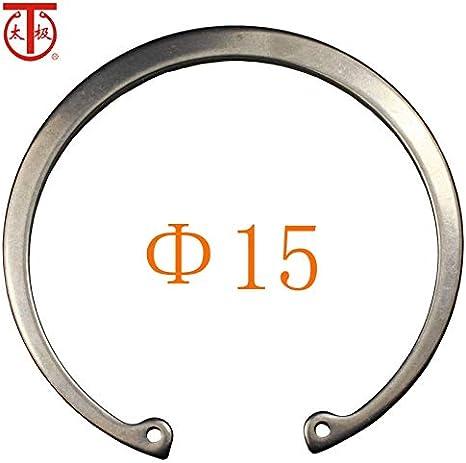 65Mn Inner Diameter: 15-1566 100 Pieces//lot - 15 GB893 Internal Retaining Ring Internal circlips RTW Ochoos