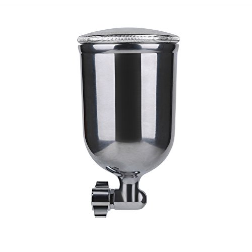 Ouya R77G Spray Gun Gravity Feed Paint Sprayer for Primer Spraying Nozzle Size 3.0mm 400cc Aluminum Cup by Ouya (Image #4)