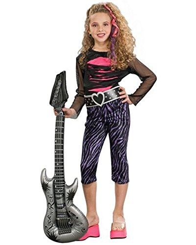 [Girls 80s Rock Star Costume] (Rock Star Costumes For Boys)