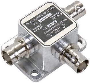 comant/Cobham/divisor de antena BNC conector dual vor/Loc/GS ...