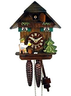 Amazon.de: Original Schwarzwälder Kuckucksuhr/Schwarzwald-Uhr ...
