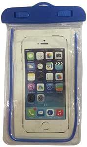 جراب مضاد للماء للهواتف المحمولة - ازرق