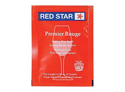 Dry Wine Yeast - Premier Rouge (Pasteur Red) (5 g)