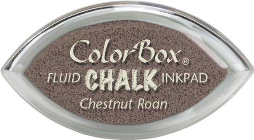 Colorbox Fluid Chalk Cat'S Eye Ink Pad-Chestnut - Ink Fluid Pad Chalk