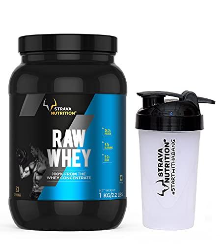 Strava Nutrition Raw Whey Protein Supplement Powder