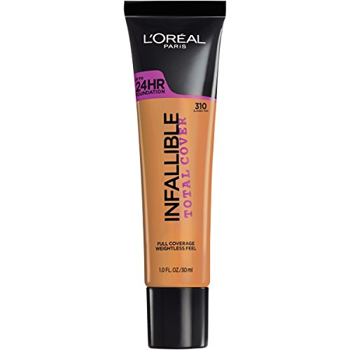 L'Oréal Paris Infallible Total Cover Foundation, Classic Tan, 1 fl. oz. (L Oreal Infallible Pro Matte Foundation Classic Tan)
