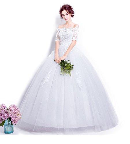 モードリンサイドボード反発パンドラハーツ ウェディングドレス 花嫁 ロングドレス プリンセスライン Aライン 結婚式 二次会 パーティー披露宴ウエディングドレス