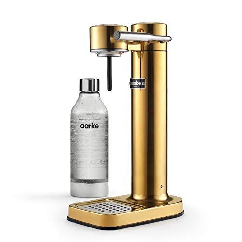 AARKE - CARBONATOR II (PREMIUM CARBONATOR/SPARKLING WATER MAKER) (Brass)