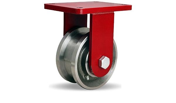 HAMILTON R-EHD-FT53FH Dual-Flange Track Wheel Plate Caster