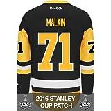 Evgeni Malkin Pittsburgh Penguins Stanley Cup Patch Reebok Third NHL Jersey