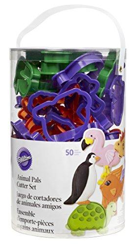 Wilton Animal Pals 50-Piece Cookie Cutter Set