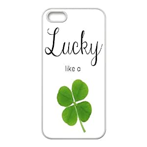 High Quality Phone Case For Apple Iphone 5 5S Cases -Lucky Clover & Irish Flag-LiuWeiTing Store Case 12
