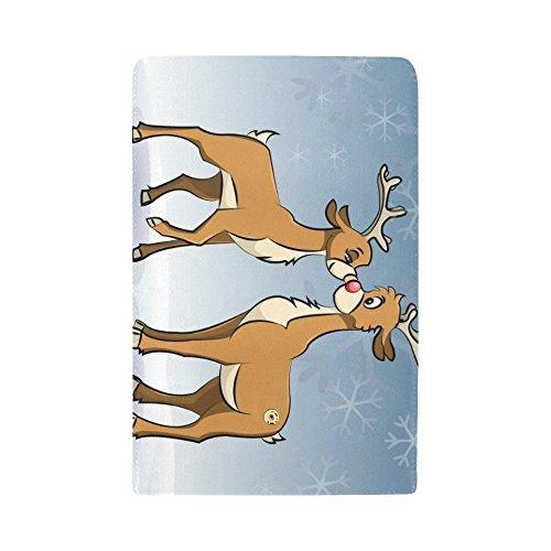 Wallet Reindeers Women's Dot Great Octopus Clutch Long Wallets Meow Trifold Women's Silly Gift Loving Work Custom FYSSq0