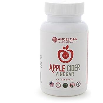 Amazon.com: 100% Organic Apple Cider Vinegar Capsules with