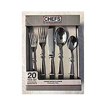 BF FW20 20 Piece A Set Of Nikita Bistro Forged Stainless Steel Flatware