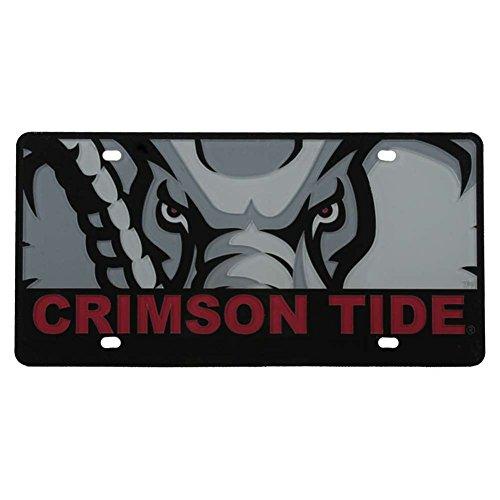 Stockdale Alabama Crimson Tide Full Color Mega Inlay License Plate