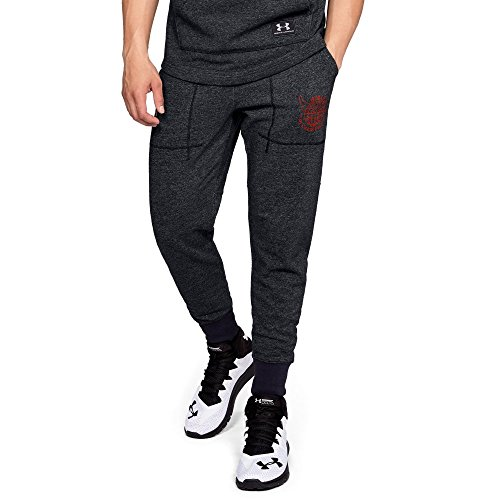 Under Armour Ua X Project Rock 96 World Champion Joggers Md Black