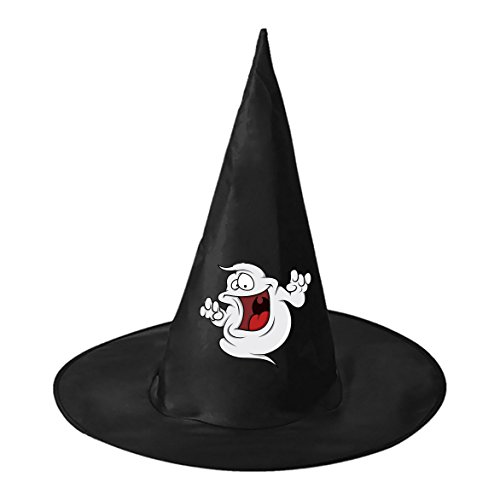 Fat Ghost Halloween Black Witch Hats Costume Party Carnivals Cosplay Accessory Cap Toys For Women Men and (Fat Halloween Witch)