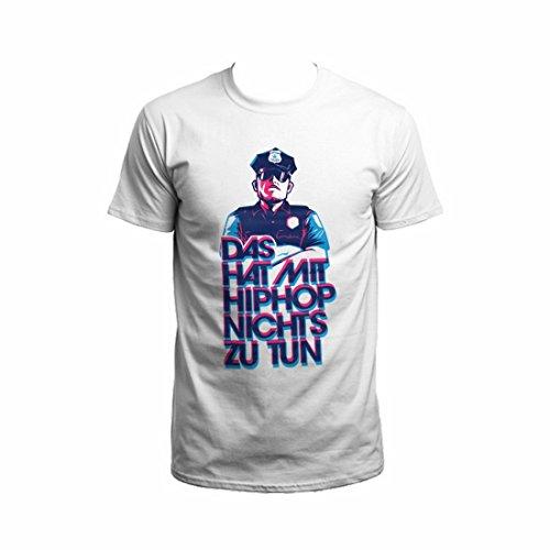 Bosshaft - DHMHHNZT Kommissar T-Shirt weiß