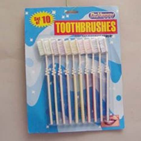 Ddi 10Pack Toothbrush Set (Pack Of 144)