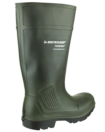 Dunlop Pull-On Self-Lined Wellingtons - Green - Size 39