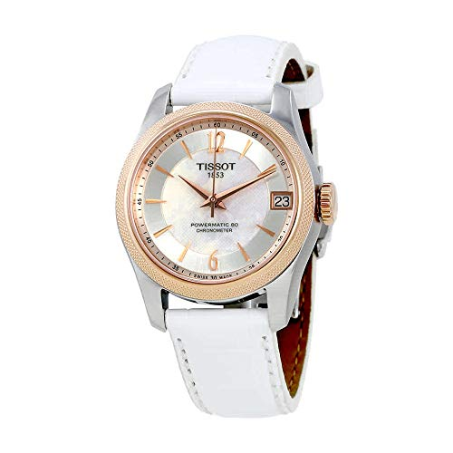Tissot T-Classic Ballade Automatic Mother of Pearl Dial Ladies Watch T108. 208. 26. 117. 00 (Of Dial Mother Pearl Automatic)