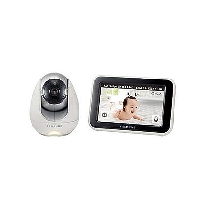 Samsung Sew 3053 W – Sistema de vigilancia de bebés, color blanco