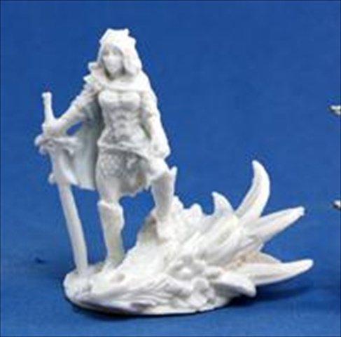 Grim Reaper miniature 77,039 Bones - Janan, women Dragon Slayer