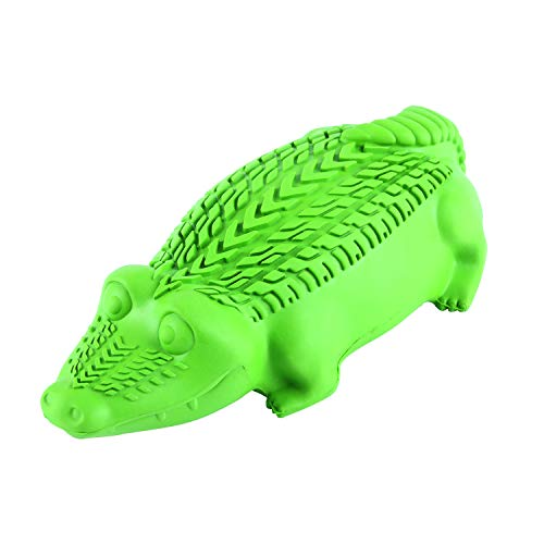 Arm & Hammer Super Treadz Gator Chew Toy for Dogs | Best Dental Dog Chew Toy | Reduces Plaque & Tartar Buildup Without Brushing