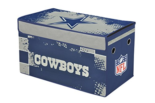 Dallas Cowboys Furniture - NFL Dallas Cowboys Collapsible Storage Trunk