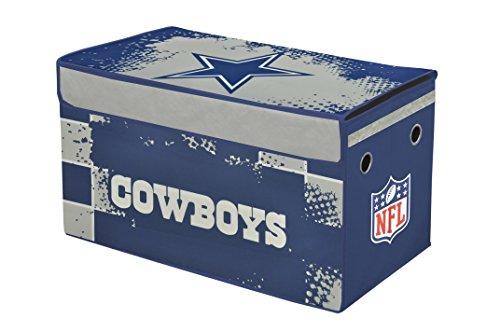 (Idea Nuova NFL Dallas Cowboys Collapsible Storage Trunk)