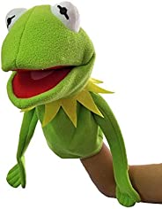 Thank You New The Muppets Show Kermit Frog Puppets Hand 40cm Puppet Plush Toy